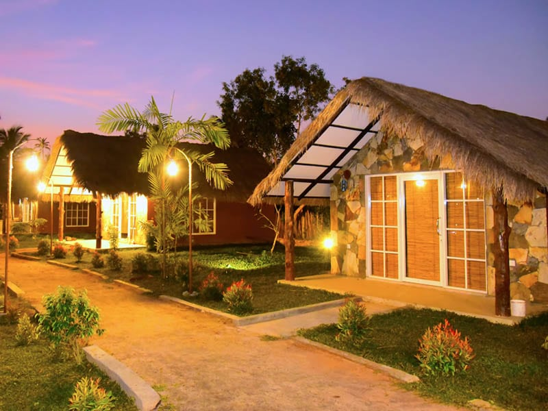 Accommodation Front 3 - Coco Village Hotel Chilaw